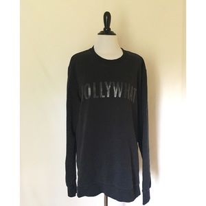 H&M Oversized HOLLYWHAT Sweatshirt-Size XL